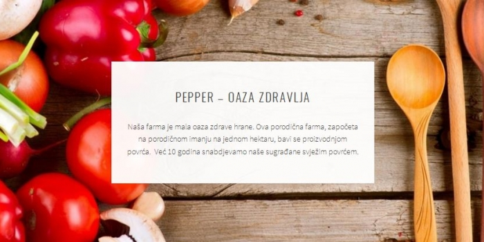 Website i logo kompanije Pepper