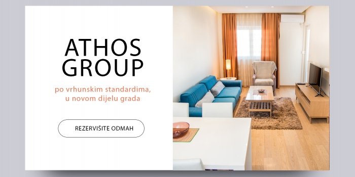 Athos Group website – Dom je tamo gdje ste Vi!